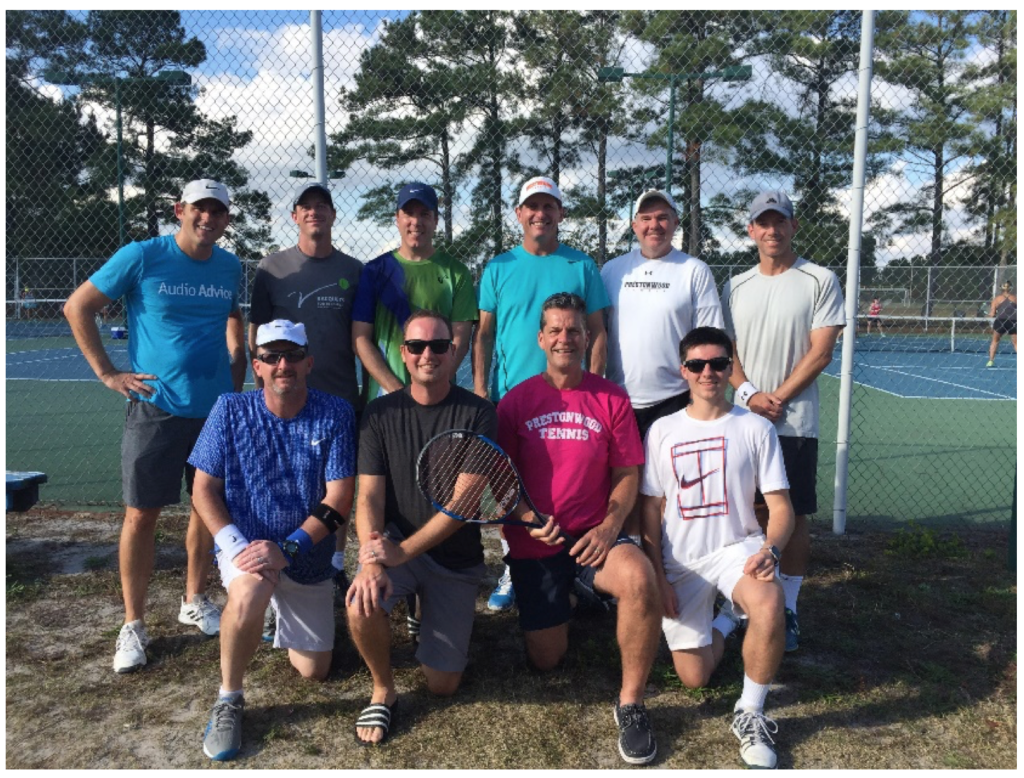 Last weekend, I got to play tennis and then teach my teammates about options trading.
