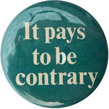 It Pays to be Contrary
