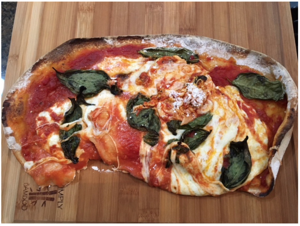 If you don't prepare for earnings season, this is the pizza version of what your portfolio could look like.