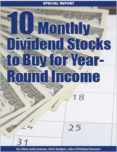 10 Monthly Dividend Stocks to Buy for Year-Round Income