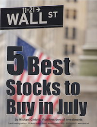 5 best stocks to buy July