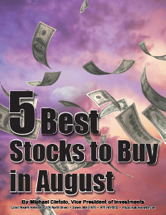 5 best stocks to buy August