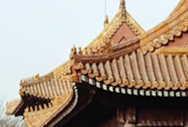 China rooftops