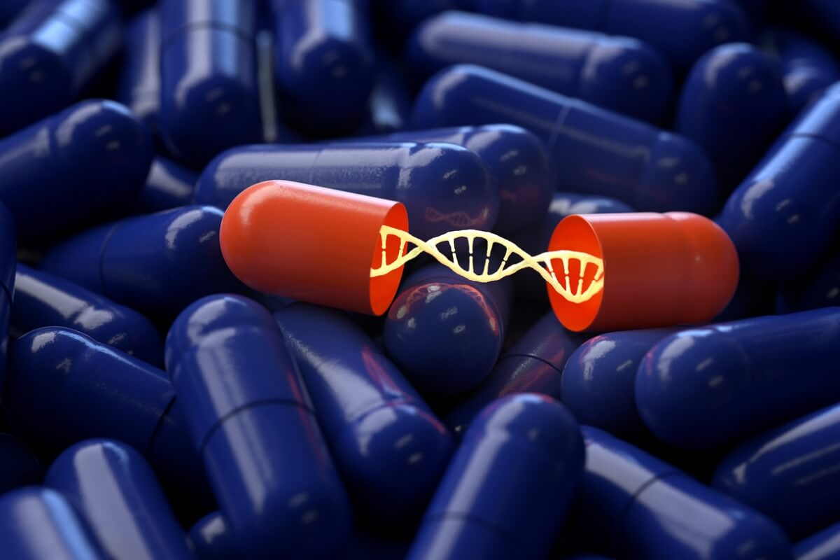 Pill with DNA