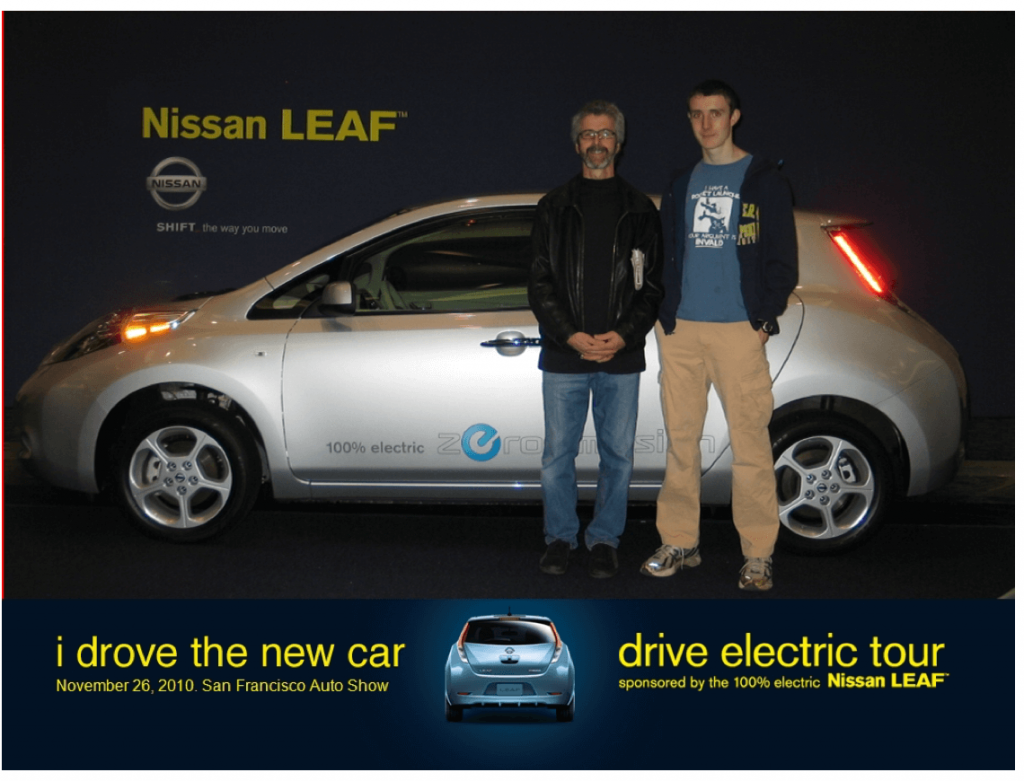 Nissan is no electric vehicle stock.