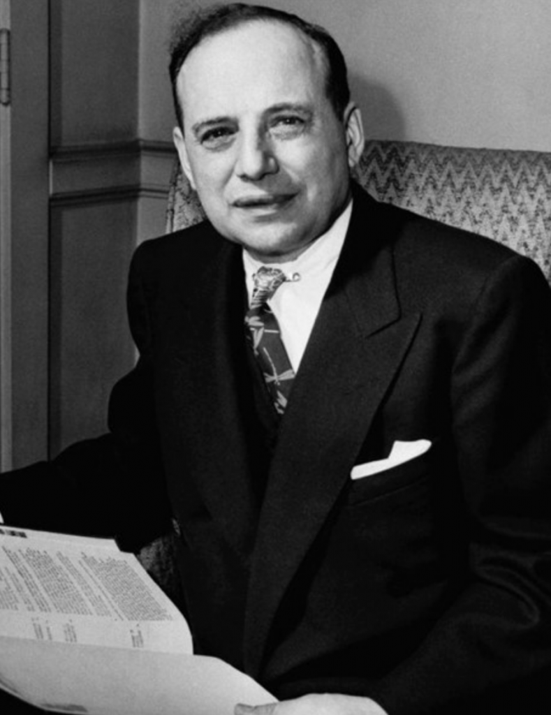 Who Is Benjamin Graham? This is a photo of him.