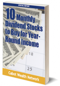 monthly dividend stocks for income
