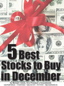 5 Best Stocks to Buy in December