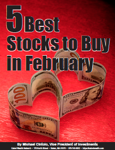 5 Best Stocks to Buy in February