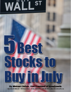 5 Best Stocks to Buy in July