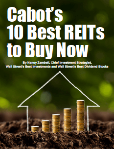 Cabot's 10 Best REITs to Buy Now