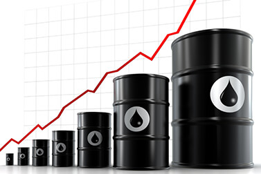 oil barrels up chart