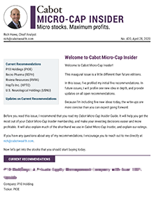 cabot micro cap insider