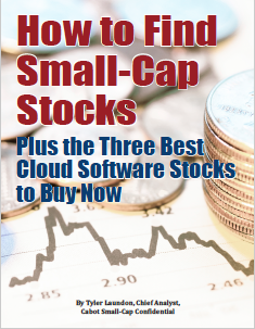 How to Find Small-Cap Stocks; Plus the Three Best Cloud Software Stocks to Buy Now