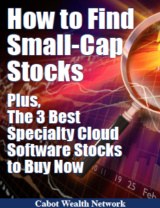 How to Find Small-Cap Stocks; Plus the Three Best Specialty Cloud Software Stocks to Buy Now