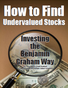 How to Find Undervalued Stocks. Investing the Benjamin Graham Way