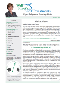 Wall Street's Best Investments Issue